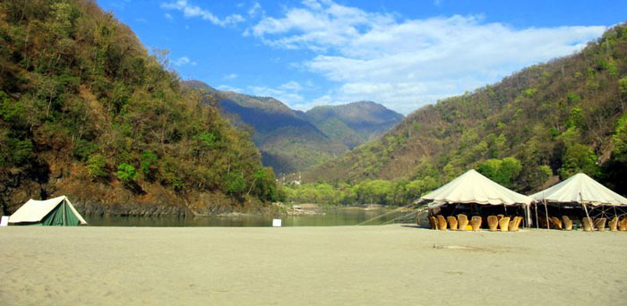 Rafting Camp - Ganga